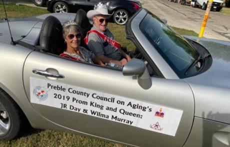 Preble County Council On Aging King and Queen JR Day and Wilma Murray