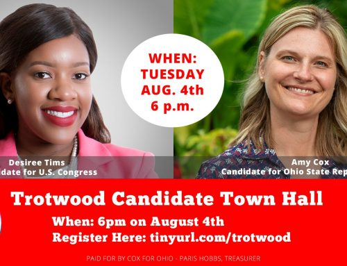 Trotwood Town Hall with Desiree Tims