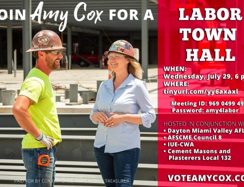 Join Amy Cox Tonight For A Labor Town Hall