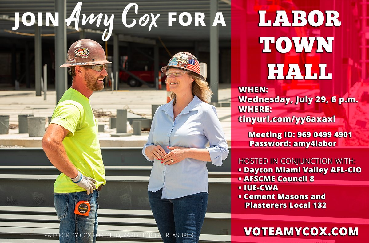 Labor Town Hall With Amy Cox