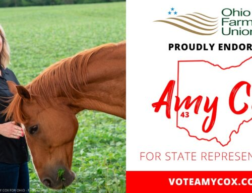 Thank you Ohio Farmers Union for Your Endorsement