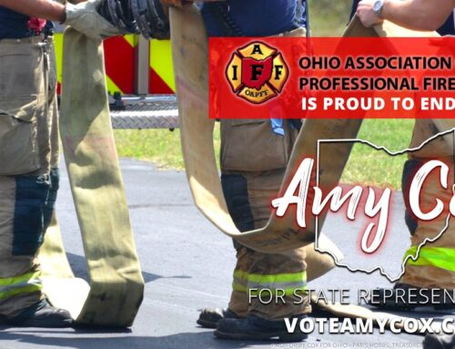 Ohio Association of Professional Fire Fighters Endorses Amy Cox