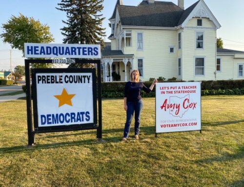 We opened the Preble County Democrats headquarters!