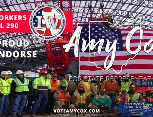 Ironworkers Local 290 Endorses Amy Cox